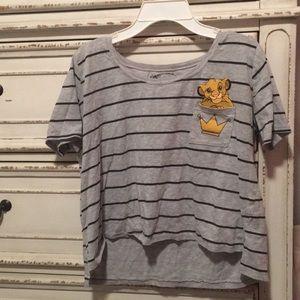 A lion king T-shirt